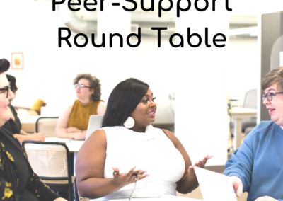 Peer Support Round Table: March 2021