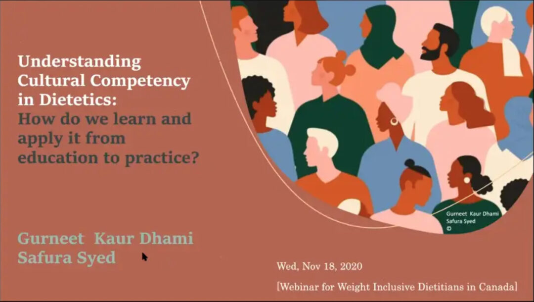 Understanding Cultural Competency in Dietetics: How do we learn and apply it from education to practice?